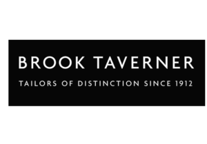 Where are brook taverner clothes made ?