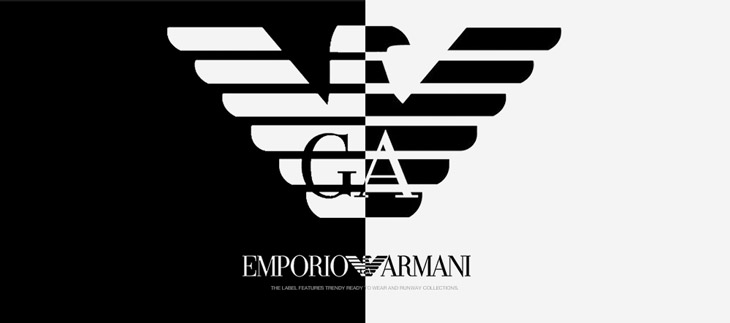Where are emporio armani clothes made ?