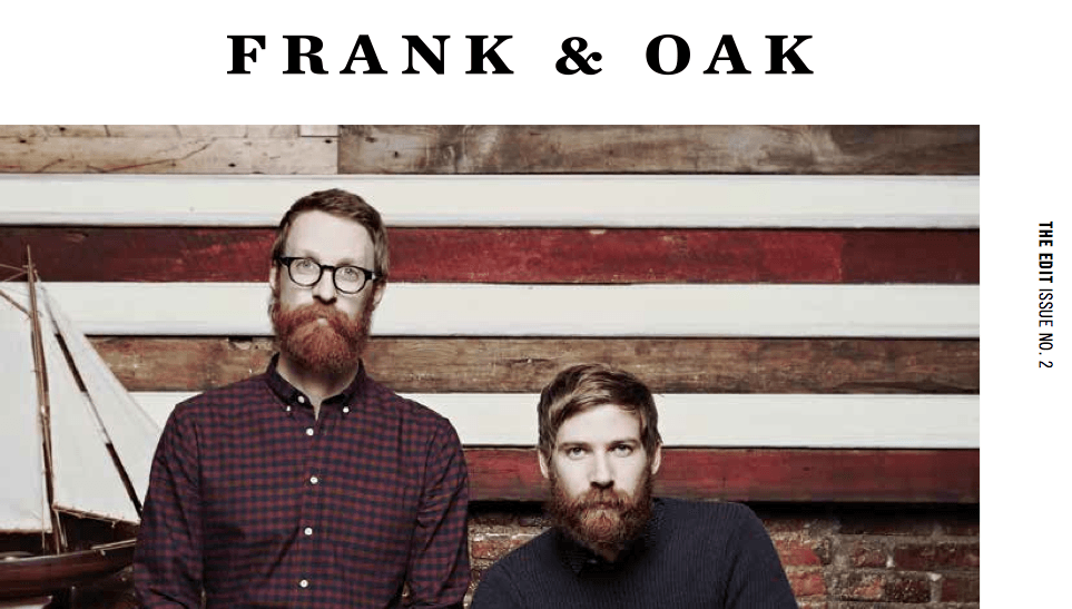 Where are frank and oak clothes made ?